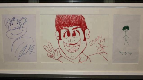 Hahaha Harry's drawing