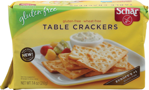 In my opinion, the best gluten free crackers I've tried so far.  I love Schar brand overall for pasta and other things as well!