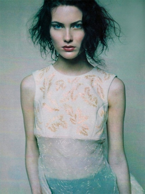 antoniacharlotte:  Shalom Harlow by David Lasnet for Allure June 1997