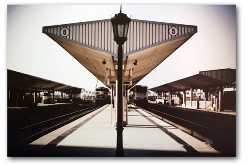 Station, photographic print on aluminum panel, from Itinerant Studio.