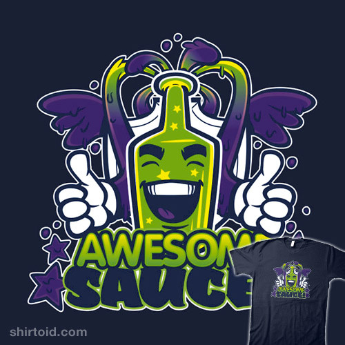 AwesomeSauce! by Nik Holmes is available at Redbubble