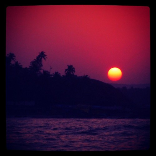 Sunrise - Arambol Beach - Goa, India (at Arambol Beach)