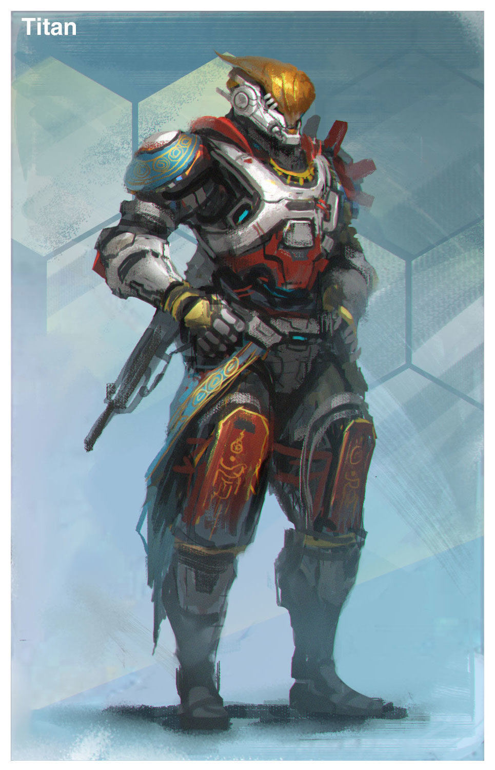 Destiny Fan Art by Mole Wang