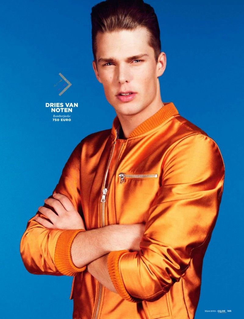 mensfashionworld:  Nils Butler by Jem Mitchell for GQ Germany