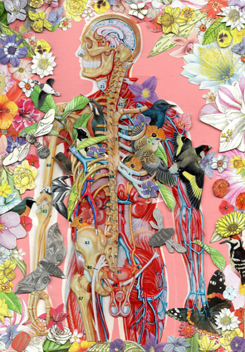 Vintage collage by Ben Giles. Via Who Killed Bambi.