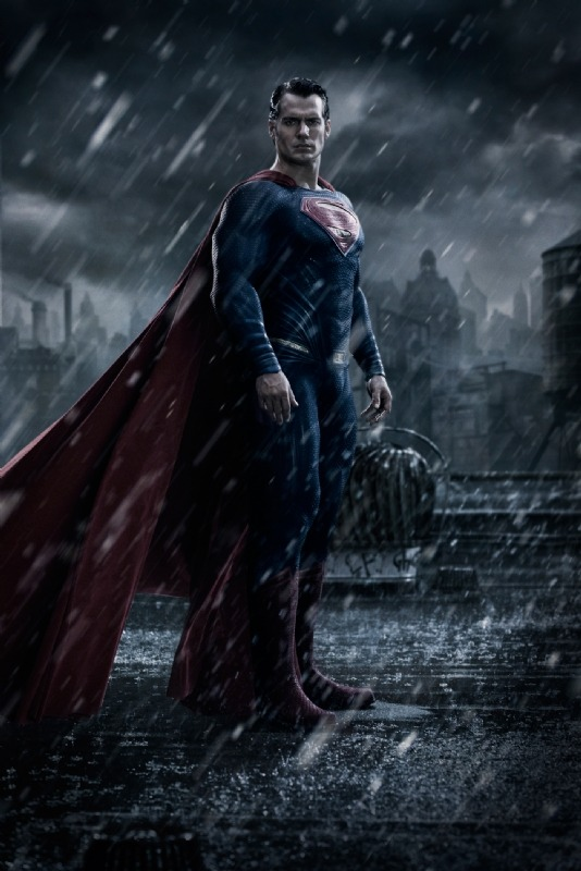 New Batman v Superman: Dawn of Justice character poster! Superman looks like he is in Gotham City with a slightly different costume on. Batman v Superman: Dawn Of Justice will be out Summer 2016!