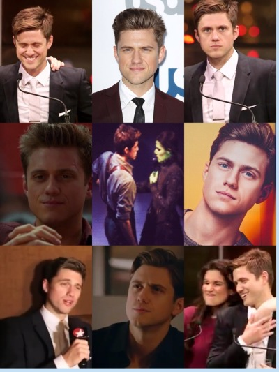 imgladtobeonyourteam:  The wonder that is Aaron Tveit 4/4