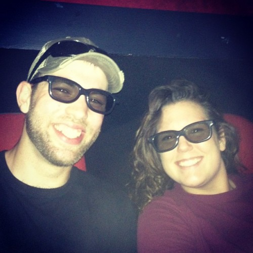 3D movie with my sis @wesleymw11