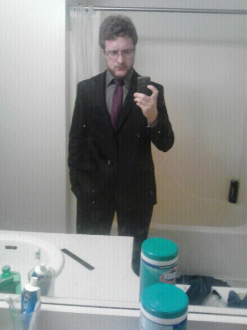 I say I clean up well