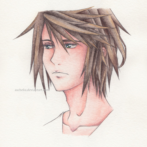 Another headshot of Noel Kreiss from FFXIII-2 :> More info in my DeviantArt.