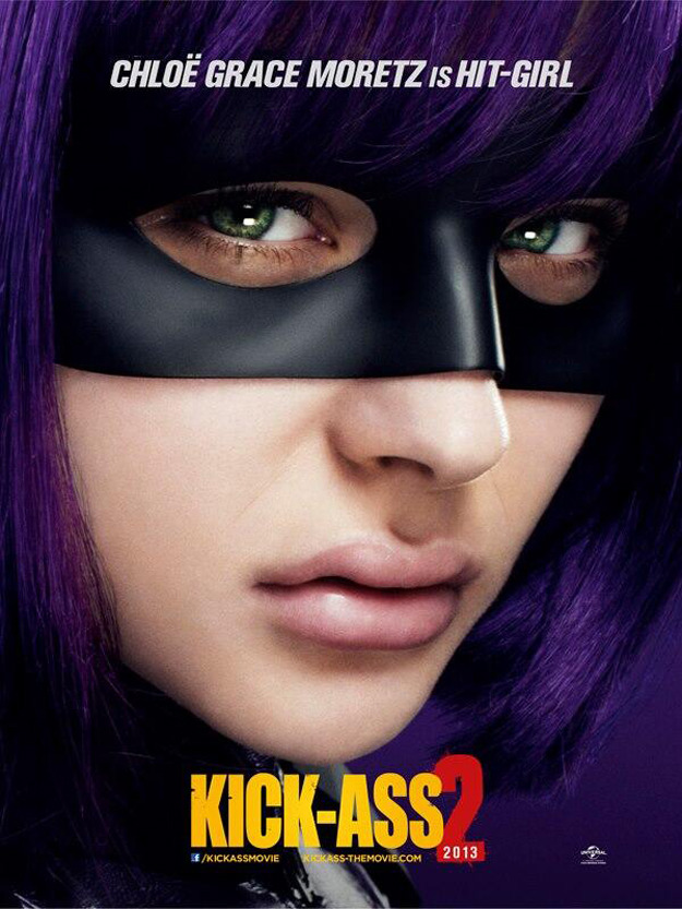 Chloe Moretz's Hit-Girl Gets a New Kick-Ass 2 Poster