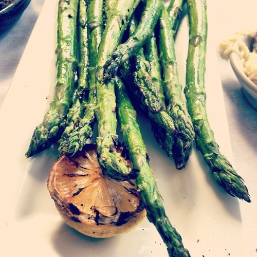 Grilled #asparagus  (at The Capital Grille)