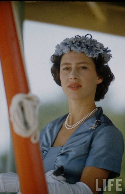 theniftyfifties:  Princess Margaret during a tour of East Africa, 1956.