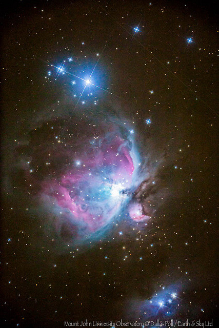 Orion in the West by Earth & Sky NZ on Flickr.