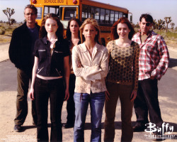 "enjorlassie:  10 years since Buffy ended. Non-fans have no idea how brilliant, influential and inspiring this show was and is. Season 7, Episode 22 ""Chosen"": 20/05/2003  All the feels."