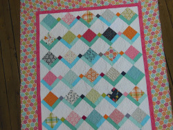 """flying kites"" quilt 2013 by yankeequilter on Flickr."