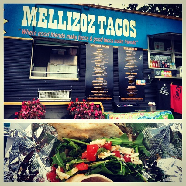 Dankest taco in all the land #friedavocado #austin #texas #foodtrailer