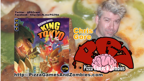 Sunday join us live as our show gets crashed by @thatchrisgore & @podcrashshow. This weeks game: @IelloGames's King of Tokyo. Watch live Sunday at 7pm on http://stickam.com/samproof