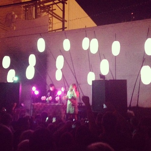 Purity Ring. Beauty Bar Las Vegas.  (at Beauty Bar)