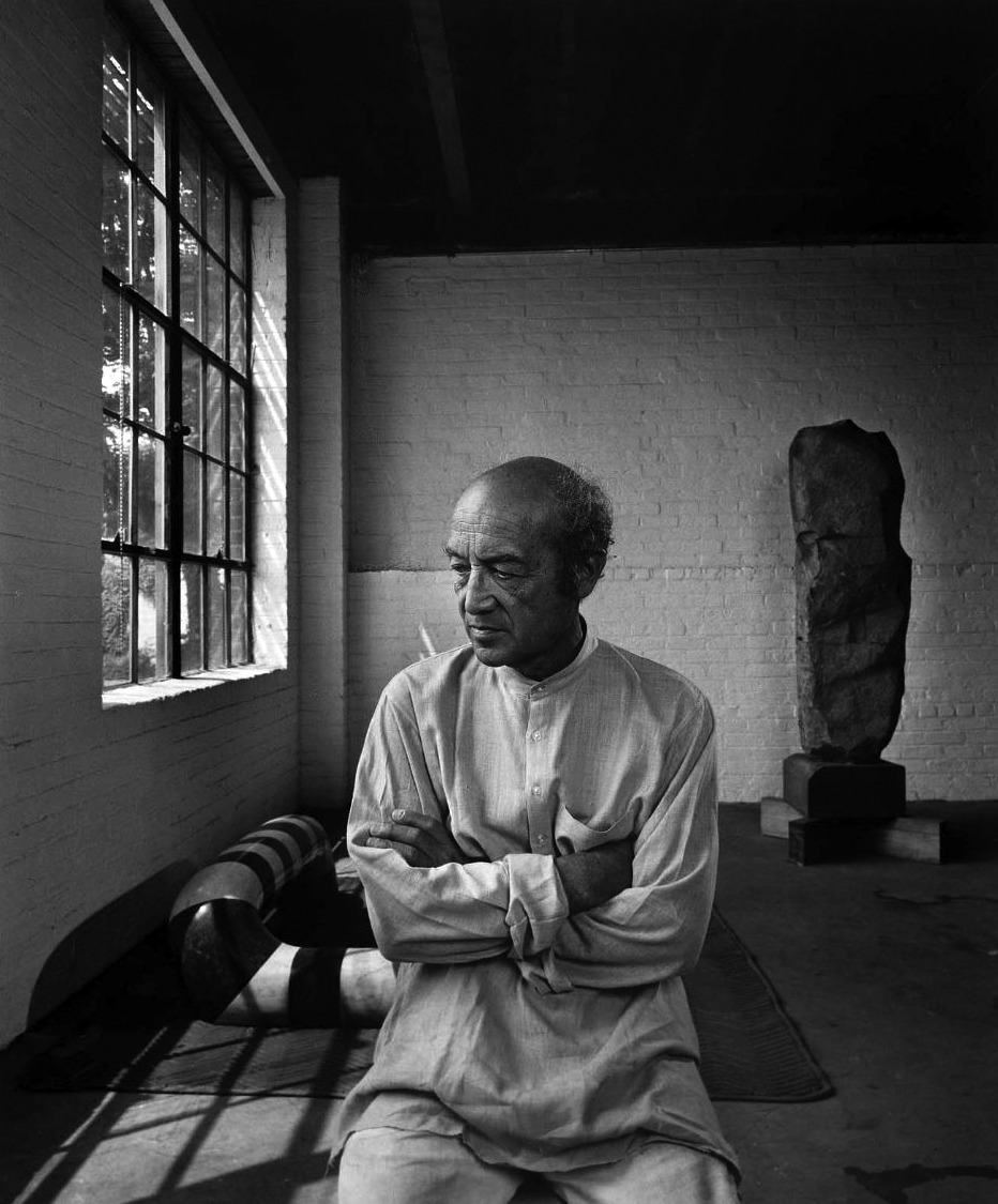 Make It Easy This Summer In Linen. Isamu Noguchi.