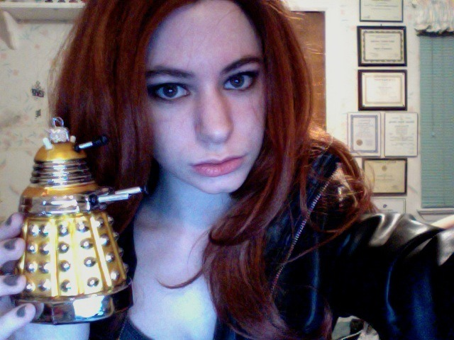 Working on an Amy Pond cosplay? Or do you just want a little Doctor Who inspiration when you're going out? Check out my Amy Pond makeup tutorial for Asylum of the Daleks right here!