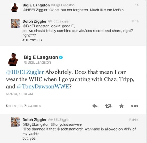 i-am-bunny-hear-me-rawr:  Totally enjoying Big E's twitter right now omg