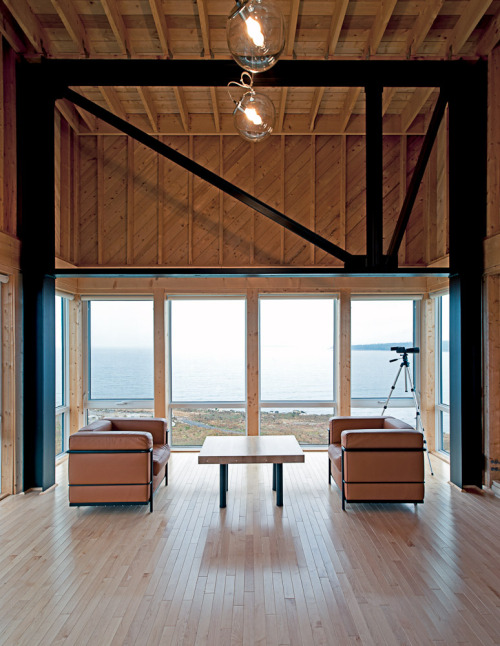 cliff house | living ~ mackay-lyons sweetapple architects