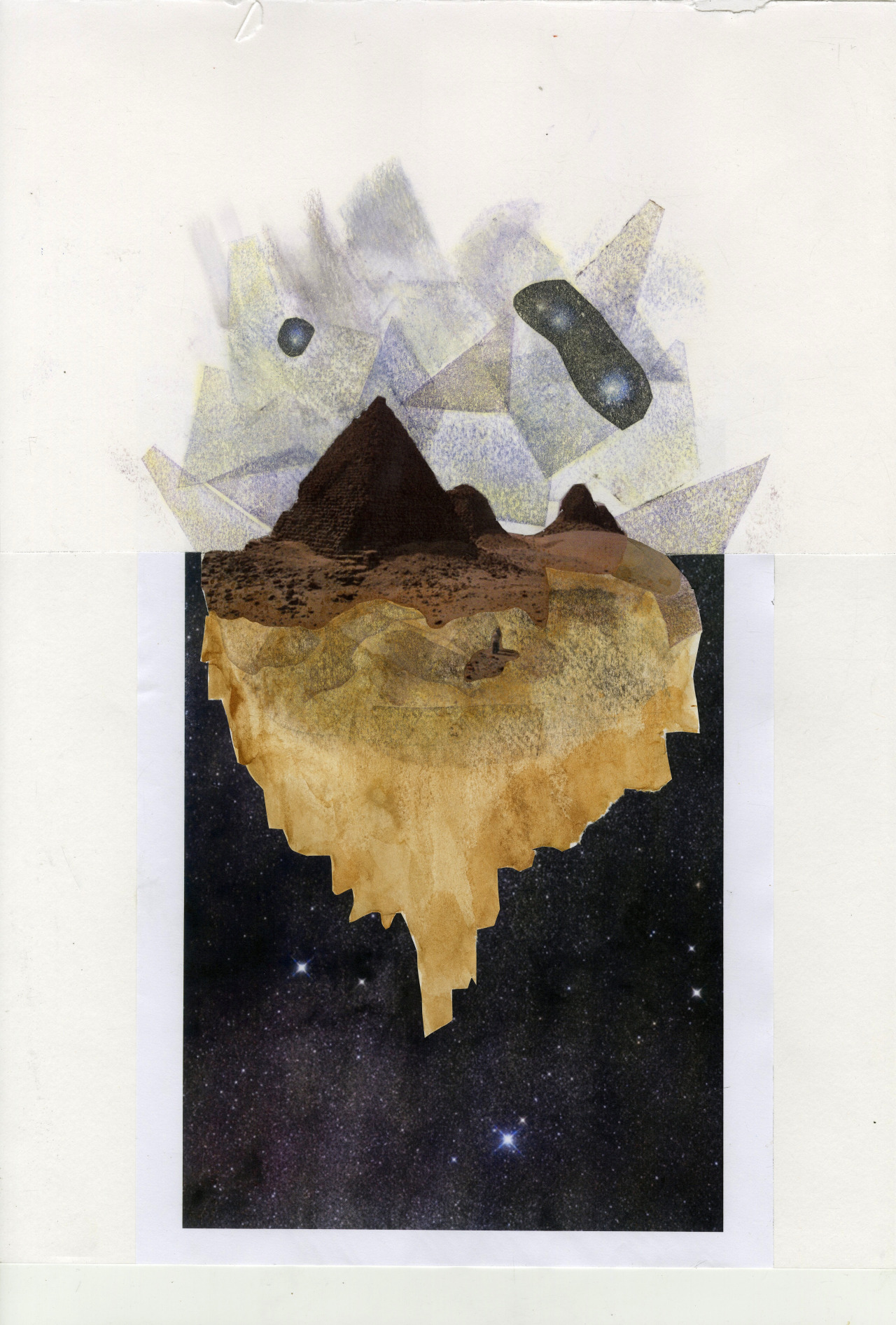eatsleepdraw:  Pyramids 2013 My visual journal: louisodendaal.tumblr.com