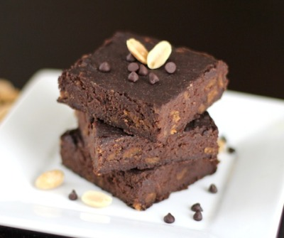 Peanut Butter Chip Brownies [GF]