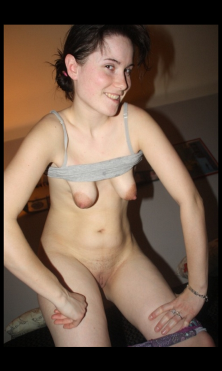 cuntspreader:Tiny ruined rackI would love to tie those tits and see how they swell up - nips look ok - get them pierced to make up for ruined rack
