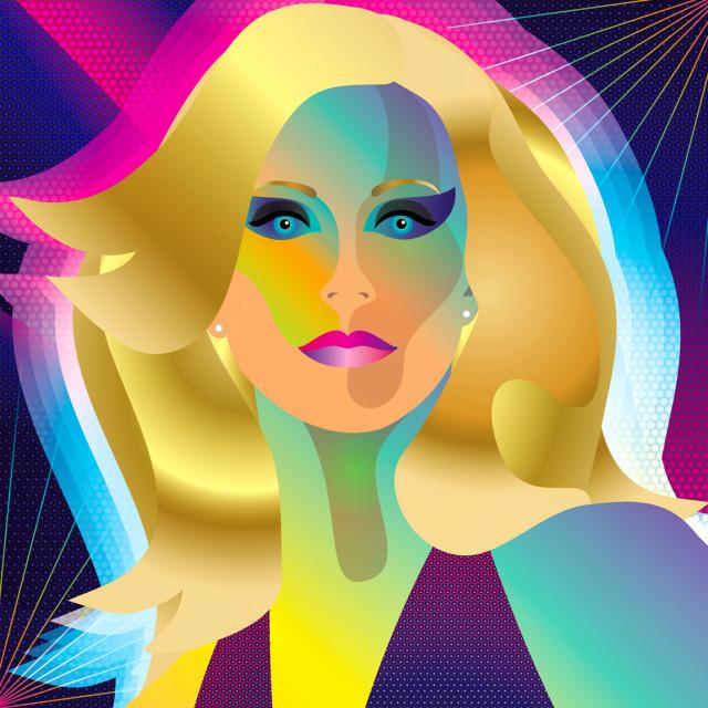 "HBD, Olivia Newton-John / ""Xanadu"" #olivia newton john #xanadu#submission#onj #illustrators on tumblr #illustrators#vector illustration#1980s style#Dance Music#disco#elo#camp#cult film#cult classic #artists on tumblr  #designers on tumblr #80eastdesign#vector art #graphic designers on tumblr #graphic designers#artists#roller disco#discoart#film#neon lights"