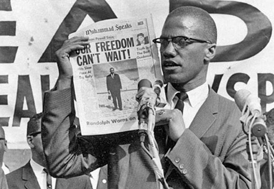 Happy Birthday Malcolm X. R.I.P.