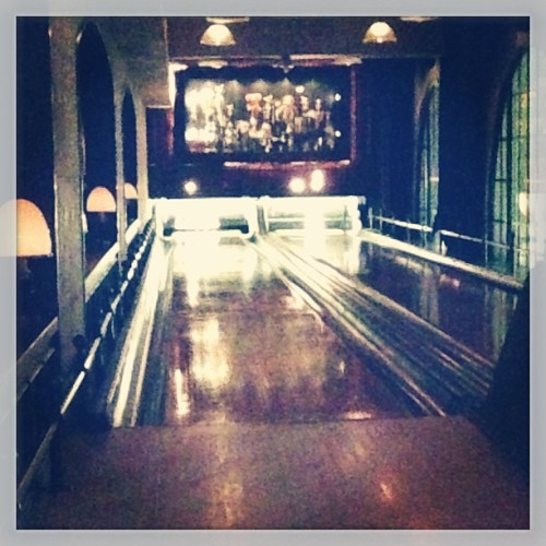 Bowling at The Spare Room in The Roosevelt Hotel, Hollywood (at The Spare Room)