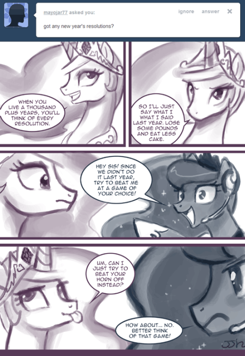 "Ask Princess Molestia #269 ""Luna is super cereal!"" ~ PM"