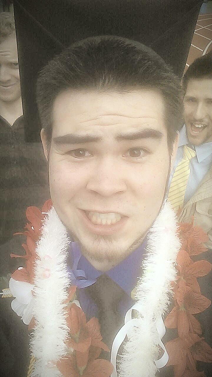 I graduated from college today!