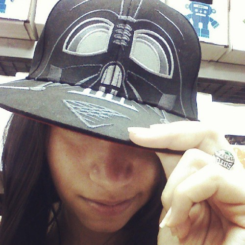 The dark side. #personal #selca #star_wars