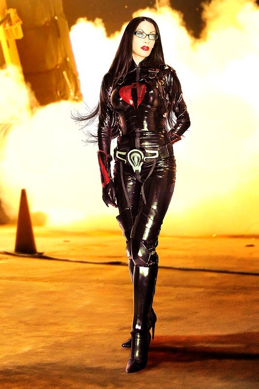 Baroness from GI-Joe…   Jennifer V.