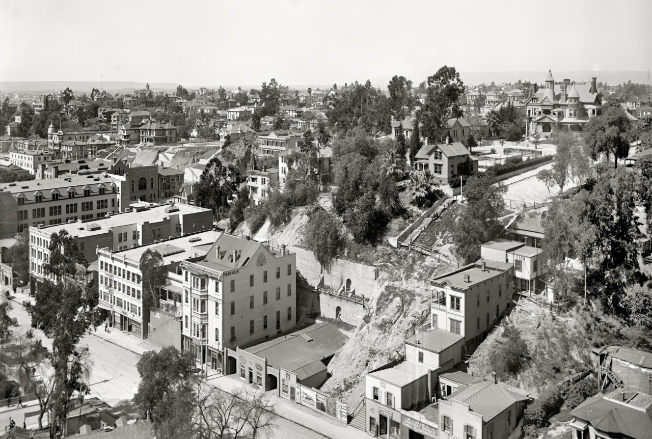 Los Angeles in 1899