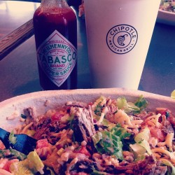 Chipotle date with @smcg386