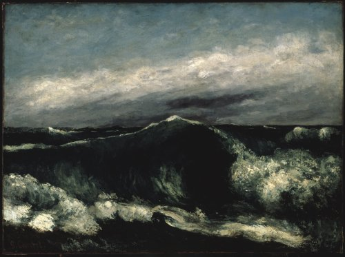 1910-again:  Gustave Courbet, The Wave 1869
