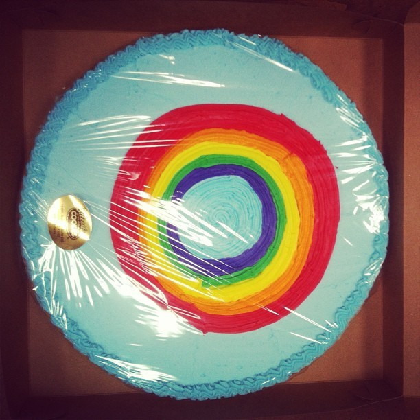 Glory Rainbow - birthday cookie on my birthday #xvala #data #birthday #geek