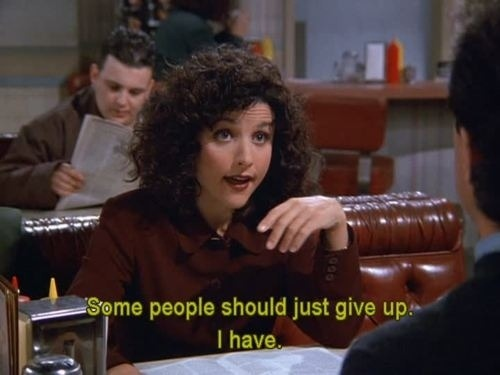 buzzfeed:  We are all Elaine Benes