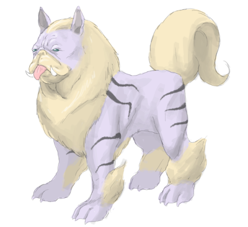 Man I would train the shit out of a bulldog Arcanine. A+ art would look at again