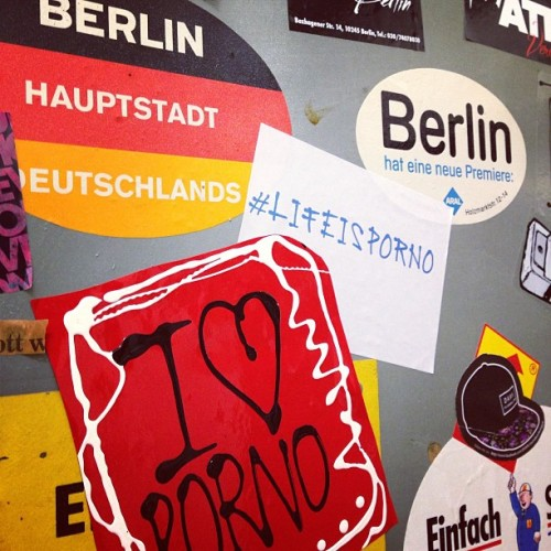 Hey there, #Berlin! #LifeisPorno today at #BreadAndButter & #Bright tradeshow!