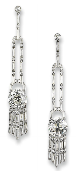 omgthatdress:  Earrings 1930s Christie's