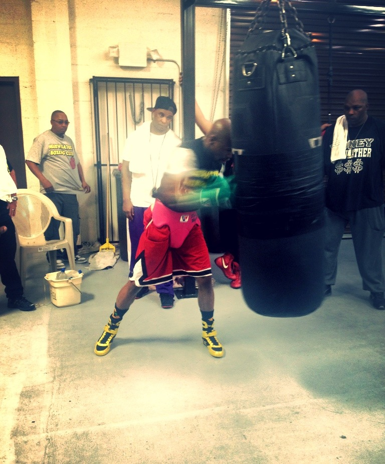madlib-eration:  Training Camp: Heavy Bag