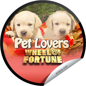 I just unlocked the Wheel of Fortune: Pet Lovers Week sticker on GetGlue                      4083 others have also unlocked the Wheel of Fortune: Pet Lovers Week sticker on GetGlue.com                  Grab your paw, your neigh-bor, and somebunny special because it's time to watch Pet Lovers week on Wheel of Fortune. Share this one proudly. It's from our friends at Sony Pictures Television.