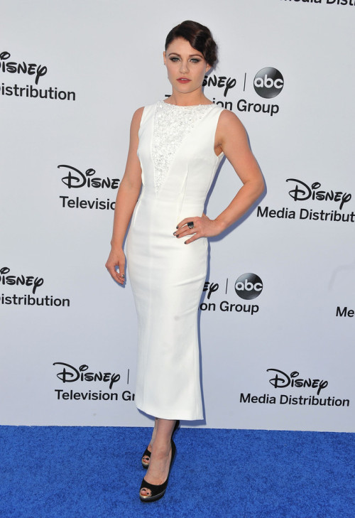 Emilie de Ravin || Disney Upfronts at Walt Disney Studios in Burbank, CA on May 19, 2013