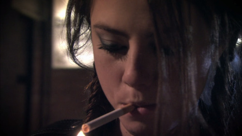 skins effy stonem screencaps cigarette smoking * dark indie grunge hipster photography art english kaya scodelario