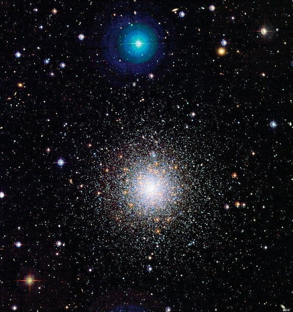 "M 79 globular cluster ""Chances are, when we meet intelligent life forms in outer space, they're going to be descended from predators"" — Michio Kaku"